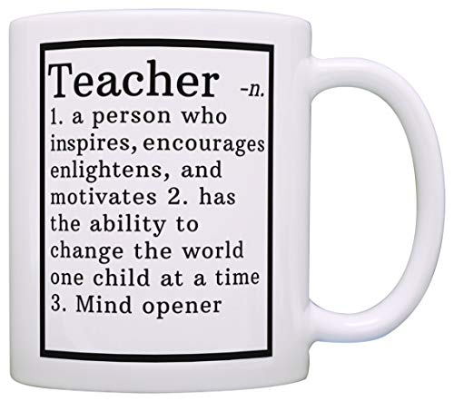 Teacher Gifts Teacher Definition Teacher Gift Ideas Spanish Teacher Gifts Teacher Thank You Gift Coffee Mug Tea Cup White