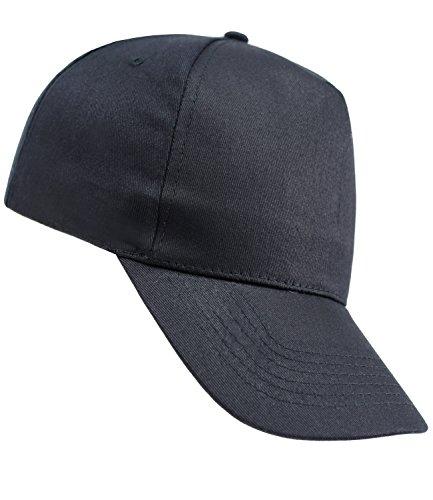 EveryHead Atlantis Herrenbasecap Basecap Baseballcap Schirmmütze Schildmütze Sportcap Sommercap Freizeitcap Panelcap für Männer (AL-502-S17-HE1-NAV-OS) in Navy, Größe OS inkl...
