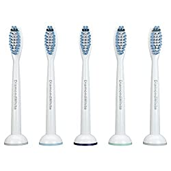 DiamondWhite Replacement Toothbrush Heads - Replacement for Philips Electric Sonic Care Tooth Brushes Dental HX 6014 ProResults