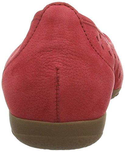 Gabor 24169, Ballerines femme Rouge (Red)