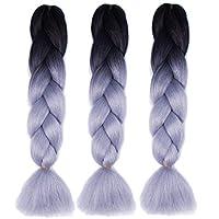 African braids Hair Extension 60cm chemical fiber wigs for women 3pcs/set-s