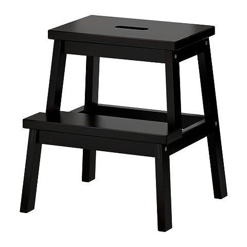 IKEA Bekvam Escabeau en bois Noir