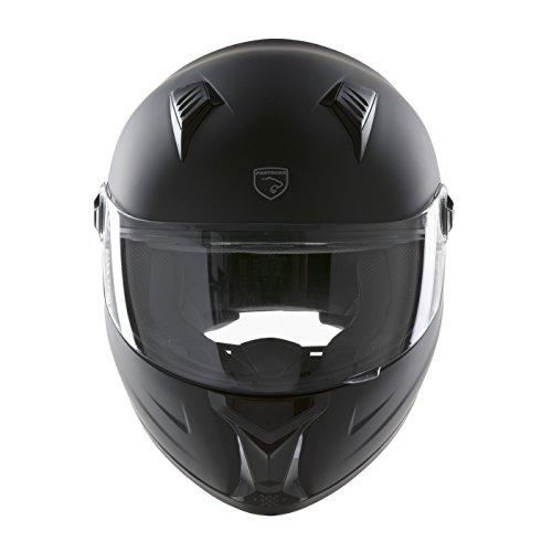 Panthera casco de moto integral Racer negro mate talla L