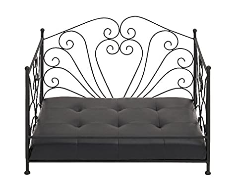 The Amazing Metal Vinyl Dog Bed by Woodland Imports