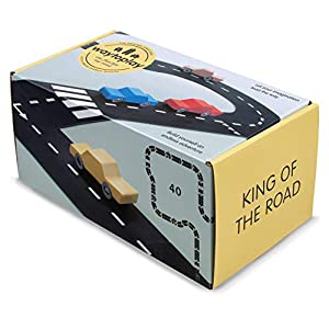 waytoplay 40 King of The Road, Color Negro con Blanco Striping, 648 cm