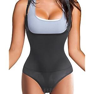 Gotoly Damen Waist Trainer Korsett Sport Taille Cincher Body Shaper Taillenmieder Top