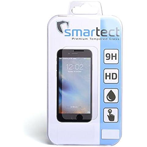 [Full Screen] SmarTect® Huawei P9 Black - Protector de pantalla de alta calidad – Vidrio templado Gorilla-Glass de resistencia