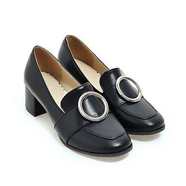 Les talons des femmes Printemps Été Automne Hiver Autres Office de PU et de l'emploi occasionnel robe Talon Autres Beige gris noir Beige