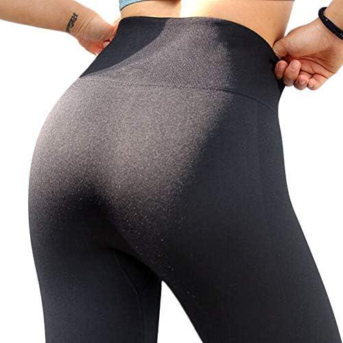 MAGIMODAC Damen Yoga Hose Leggings 3 4 Sport Leggins Jogginghose Laufhose Push up 34 36 38 40 42 44