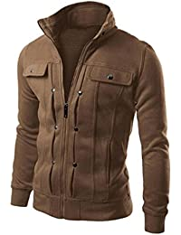 9bf33db91998 Herren Jacke, Kavitoz Mode Winter Mantel Sweatshirt Men Oversized Warm  Sweater Kühl Slim Fit Jacke