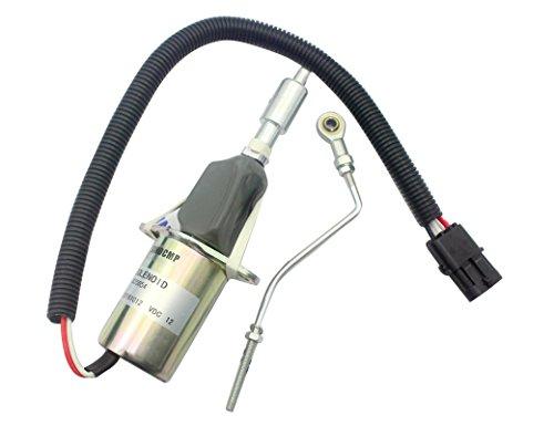 3835654DC12V Fuel Shut Off Solenoid-sinocmp Kraftstoff Magnetventil für Cummins Diesel Motor Ersatzteile 3Monate Garantie - Cummins-diesel-motor
