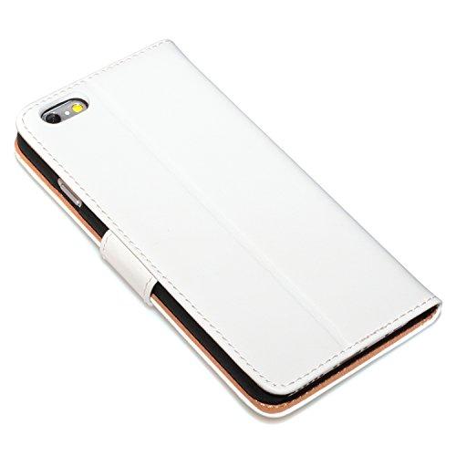 "deinPhone Apple iPhone 6 6S (4.7"") SILIKON CASE Hülle deinPhone Eule Kreditkartenfach Weiß"
