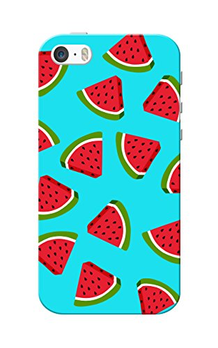 iPhone 5 Case, iPhone 5S Case, Watermelon Blue Slim Fit Hard Case Cover/Back Cover for Apple iPhone 5/5s  available at amazon for Rs.119
