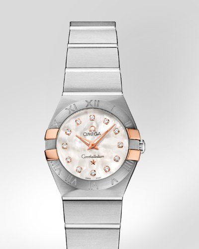 Omega Constellation Mother of Pearl Dial Stainless Steel Ladies Watch 12320246055005