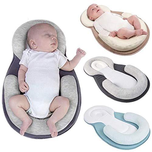 Megahause Das tragbare Babybett für den beruhigenden Schlaf (beige) - Ultimativen Komfort Matratze