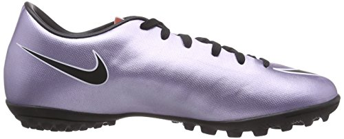 Nike Mercurial Victory V TF, Chaussures de Football Compétition Homme Argent (Schwarz-silber)