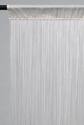 Fadenvorhang weiss ca. 90 breit x 200 cm hoch