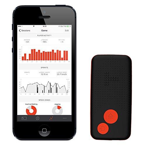 TRACKTICS Fußball-Tracker (M) zum Messen athletischer Leistungsdaten auf dem Spielfeld