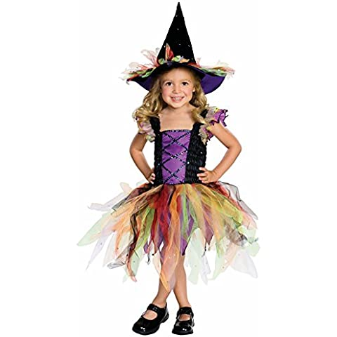 Girls or Toddler Glitter Witch