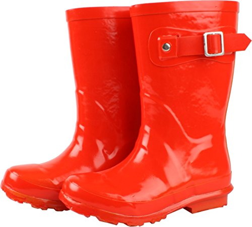Enfant unisex kid's Rain Boot waterproof rubber pull-on boots, 812900