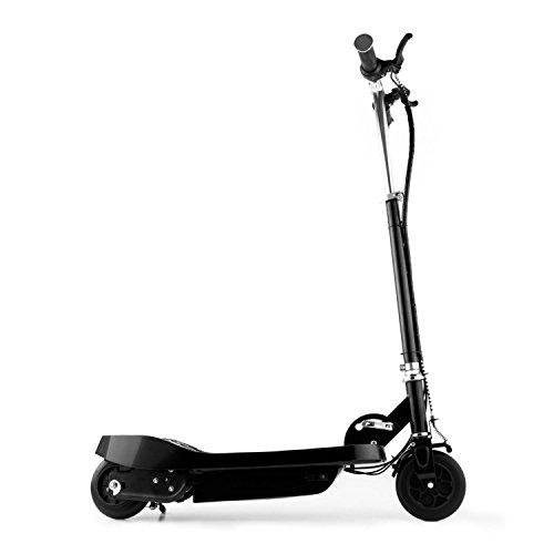 Electronic-Star Takira V6 Patinete eléctrico • Plegable • Batería de Carga rápida • Velocidad máx. 16 km/h • 100 vatios • Frenos Delanteros y Traseros • Silencioso • Manillar Ajustable • Negro