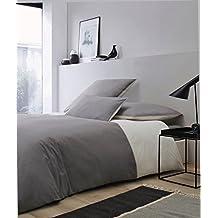 ROSE VILLAGE Luxus Bettwäsche Set (Bettbezug 200x200 + 2 X Kissenbezug In  80x80)