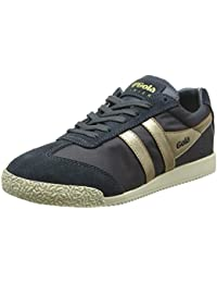 Gola Damen Harrier Nylon Graphite/Gold Sneaker