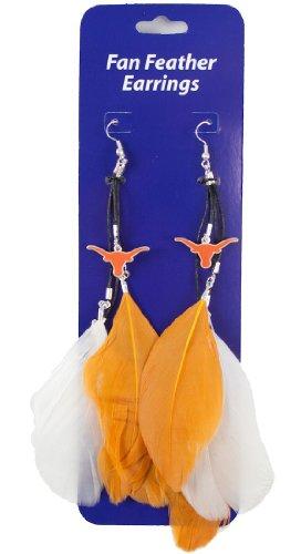 texas-longhorns-team-color-feather-earrings