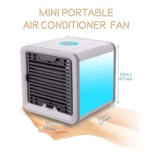 HomeFast Mini Portable 3-in-1 Air Cooler (Multicolour)