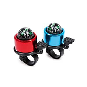 Bicycle Bell with Compass (set of 2)