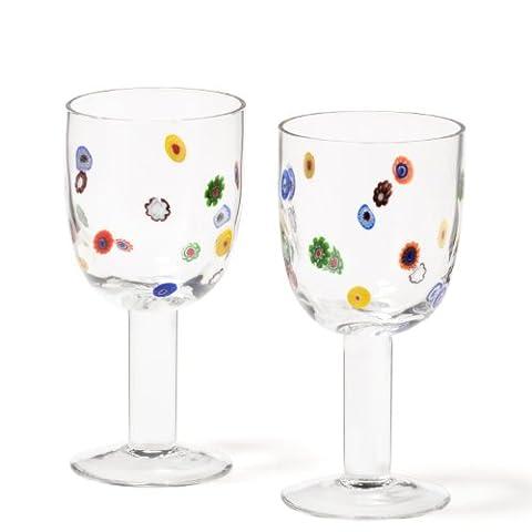 Leonardo 86427 Millefiori Set de 2 Verres Vin Rouge