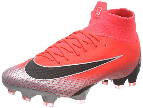 best sneakers 25ddf 9ac3d Nike Unisex-Erwachsene Superfly 6 Pro CR7 FG Fußballschuhe, Rot (BRT  Crimson