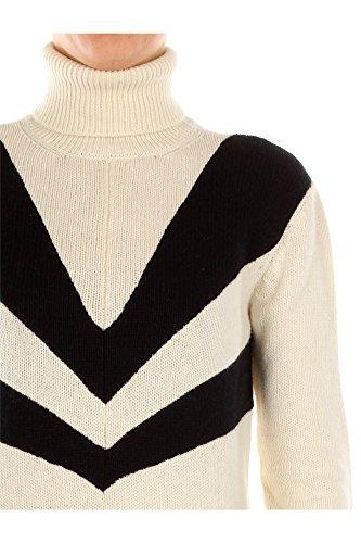 P26190LATTENERO Prada Pull Femme Laine Blanc Blanc