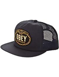 cappellino obey grigio