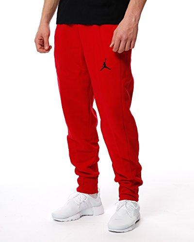 Nike Herren Flight Fleece Woven Cuffed Hose, Gym Red/Black, M (Jordan Shorts Woven)