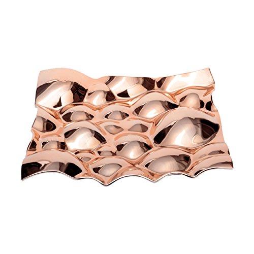 Leonardo 034403vetro ciotola decorativa Puglia, 40x 40cm,