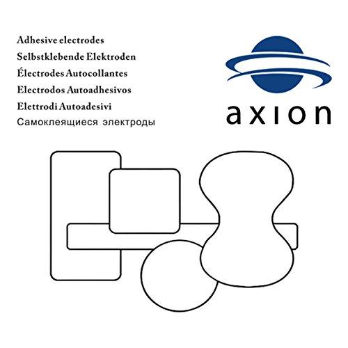 VORRATSPACK: 40 x Elektroden-Pads, selbstklebend, 4x4cm. Für TENS, EMS und Reizstromgerät - 5