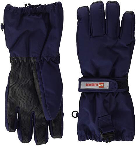 Lego Wear Unisex Lego Tec Aiden 703 Handschuhe, Blau (Dark Navy 590), 6 (Herstellergröße: 134/140)