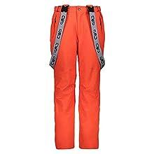 CMP Pantaloni Feel Warm Flat 10.000 3w17397n, Uomo, Tango, 54