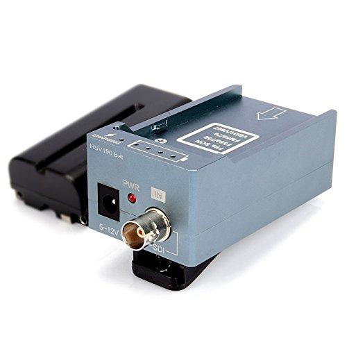 MiraBox SDI zu HDMI 1080P Mini Konverter Angetrieben Durch Kamerabatterie Unterstützungslade für F550/750/FM50/70, - Konverter Angetrieben
