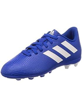 Adidas Nemeziz 18.4 FxG J, Botas de Fútbol para Niños