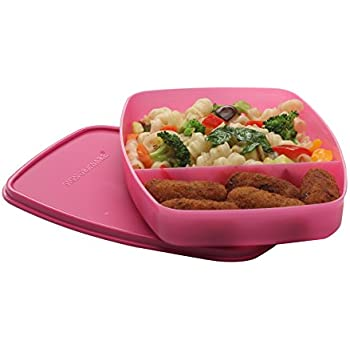 Signoraware Slim Plastic Lunch Box, Pink