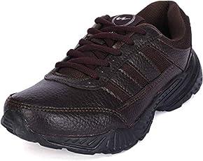 Campus Brown School Shoes Boys