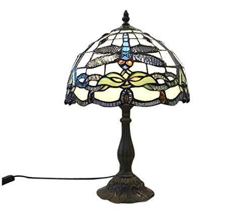 Graf von Gerlitzen Tiffany Stand Tisch Lampe Antik Style Tischlampe Tiffanylampe GN198Anja (Antike Lampe Stand)