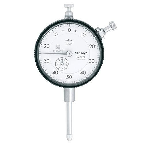 Mitutoyo 2417S Plunger Dial Indicator 1 Gauge Test Inspection by Mitutoyo - Mitutoyo Dial Test Indicator