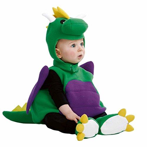 Kinder Kostüm Baby Dino Drache Karneval Fasching Gr.80/86