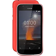"""Nokia 1 4G 8GB Red - Smartphones (11.4 cm (4.5""""), 8 GB, 5 MP, Android, 8.1 Go, Red)"""