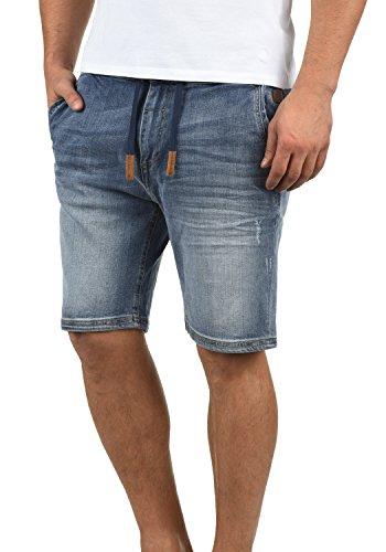 Blend bartels pantaloncini jeans da uomo, taglia:l;colore:denim lightblue (76200)