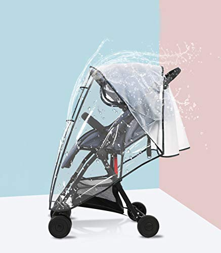 style-05 Burbuja de Lluvia Protector Cubierta contra Lluvia y Viento Impermeable para Silla de Paseo de Beb/é y Carrito
