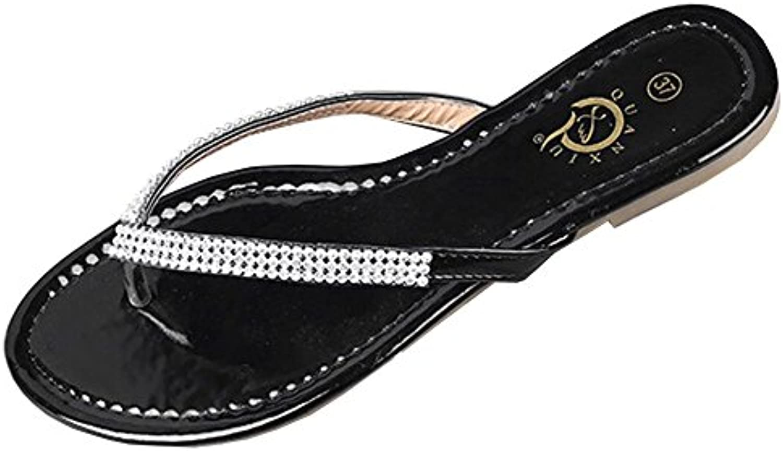 le  strass, lisianthus002  le 's slim confort string sandale tong 3c5950